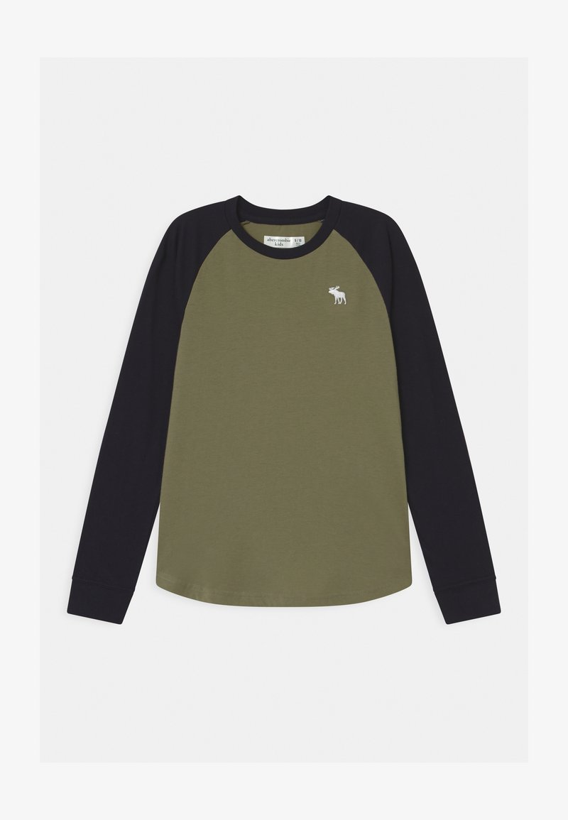 Abercrombie & Fitch - RAGLAN - Long sleeved top - green