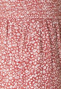 Hollister Co. - BEACHY WIDE LEG PANT - Trousers - cinnabar - 2