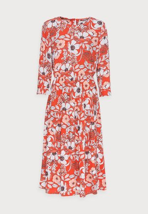 DRESS - Kjole - orange red