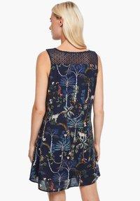 s.Oliver - Day dress - dark blue floral aop - 2