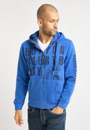 Zip-up hoodie - royalblau