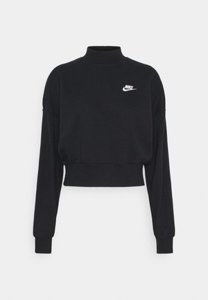 MOCK - Sweatshirts - black/white
