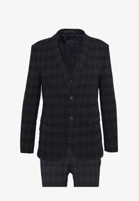 Ben Sherman Tailoring - MIDNIGHT TEXTURED CHECK SUIT - Completo - navy - 10