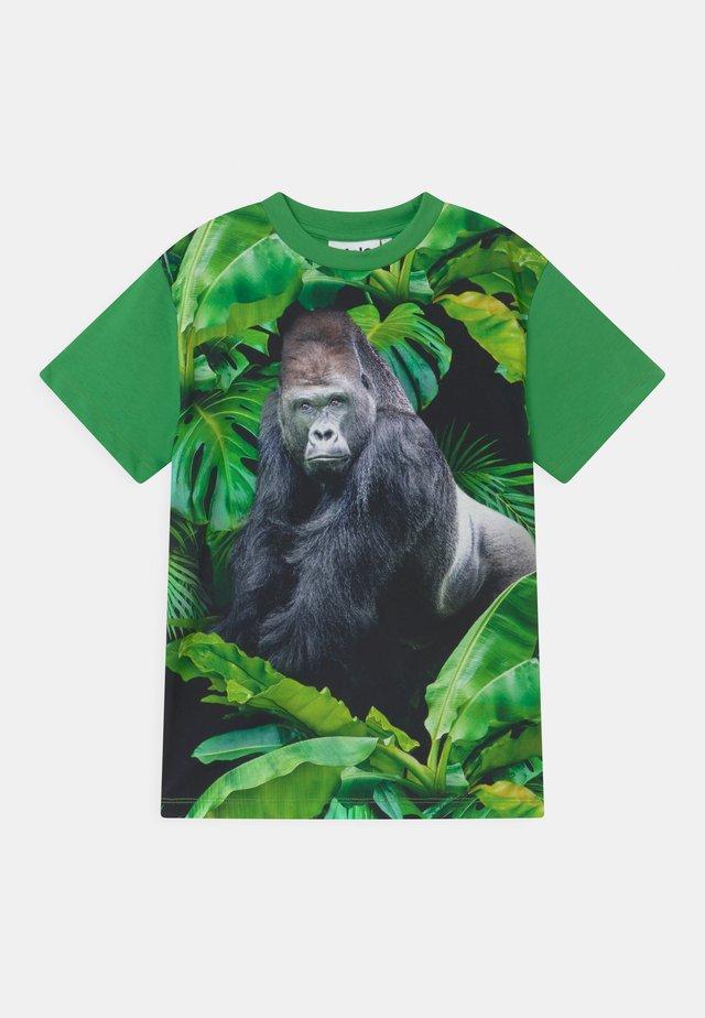 ROXO - Print T-shirt - green