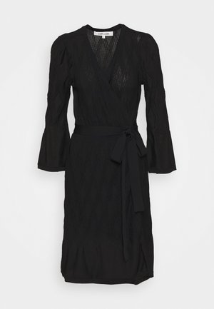 AUDREY DRESS - Neulemekko - black