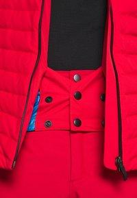 Colmar - Veste de ski - bright red/peacock/black - 10