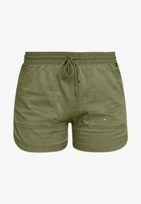 Jack Wolfskin - SENEGAL SHORTS - Sports shorts - delta green - 3