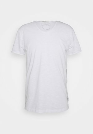 TEE WITH BACKPRINT - T-shirt basic - white