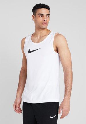 CROSSOVER - Sports shirt - white/black