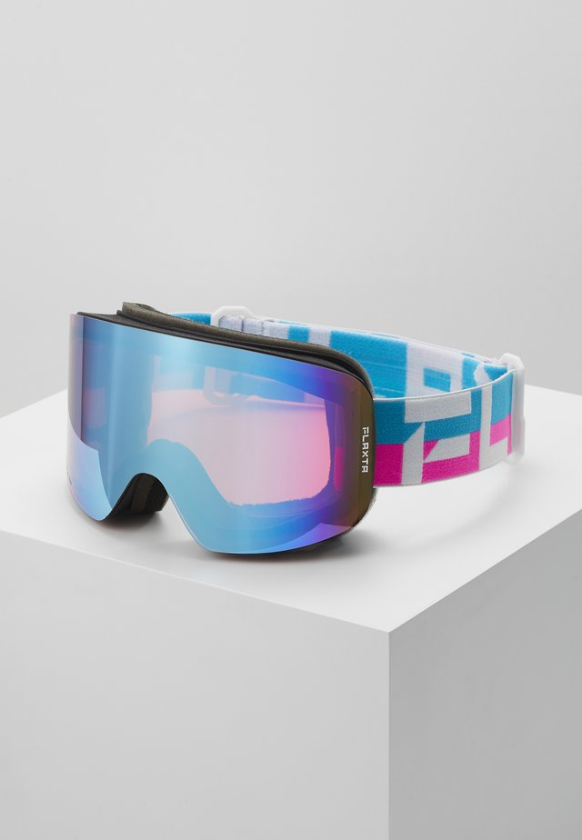 PRIME UNISEX - Ski goggles - bright pink/blue