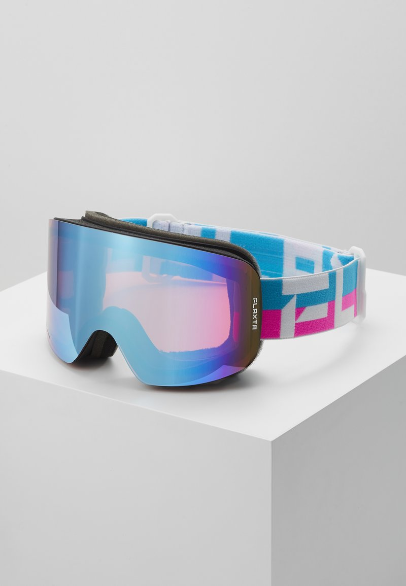 Flaxta - PRIME UNISEX - Occhiali da sci - bright pink/blue