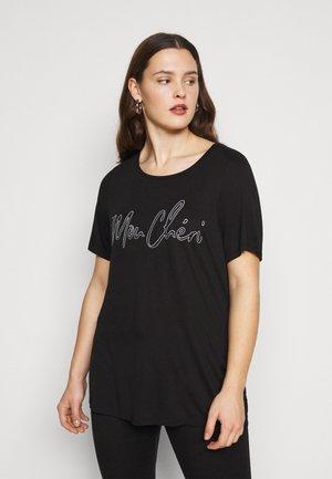MON CHERIE TEE - Print T-shirt - black