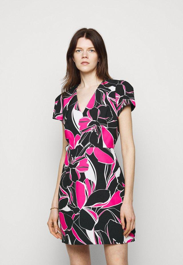 ATALIE DRESS - Korte jurk - black multi
