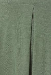 Even&Odd - 2 PACK - A-line skjørt - black/light green - 6