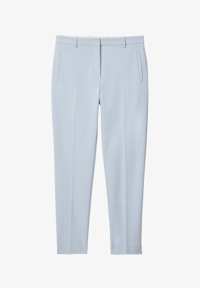 Trousers - blue fog