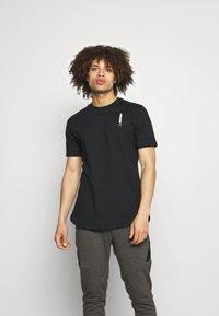SQUATWOLF - WARRIOR TEE - T-shirt imprimé - black - 0
