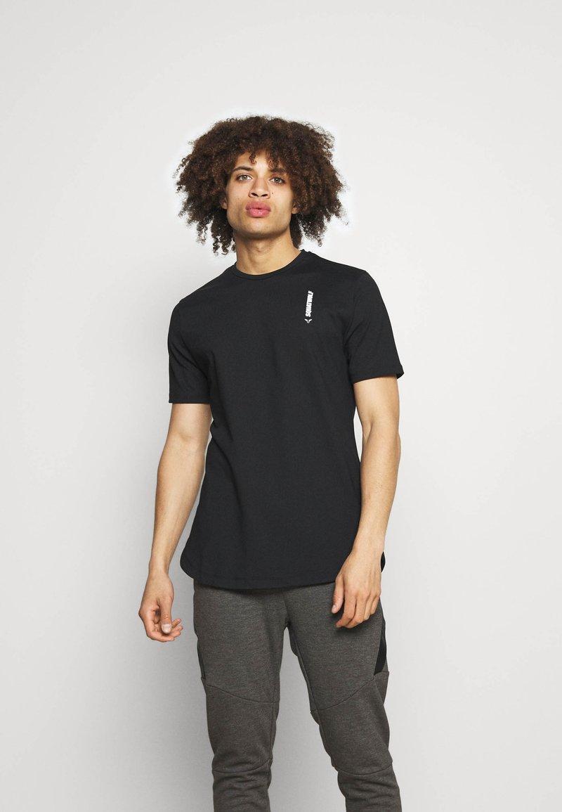 SQUATWOLF - WARRIOR TEE - T-shirt imprimé - black