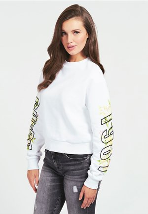 LOGO STICKEREI - Sweatshirt - weiß