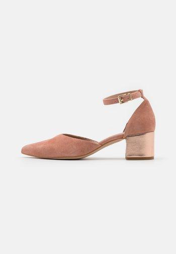 LEATHER - Klassiske pumps - light pink