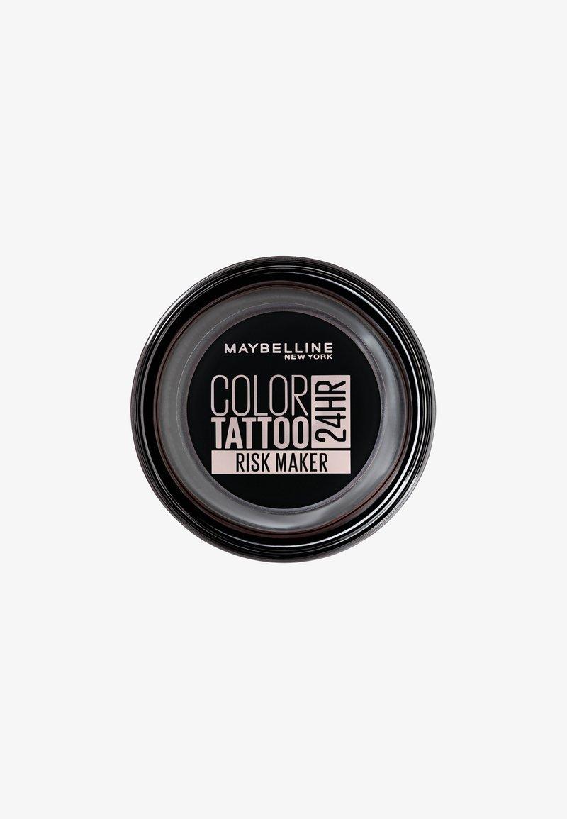 Maybelline New York - COLOR TATTOO CREME-GEL EYESHADOW - Eye shadow - risk maker