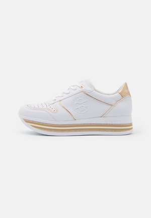 LIAN - Sneakers basse - white/gold