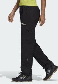 adidas Performance - W MT RAIN PANT - Bukse - black - 2