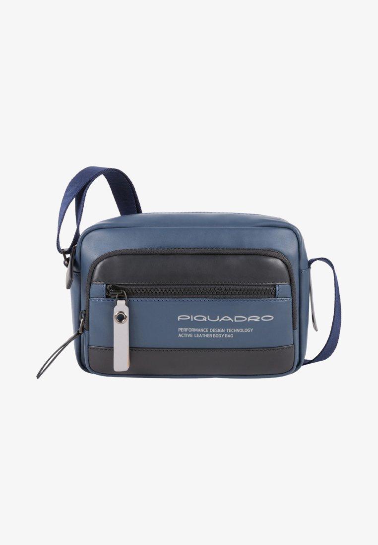 Piquadro - CROSSOVER BAG - Across body bag - dark blue