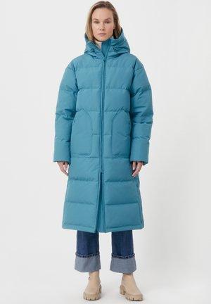Down coat - dark turquois