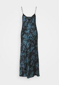 ASCENO - THE LYON SLIP DRESS - Negligé - black - 1