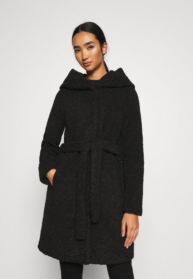 VMLUCINDA HOODY JACKET - Classic coat - black
