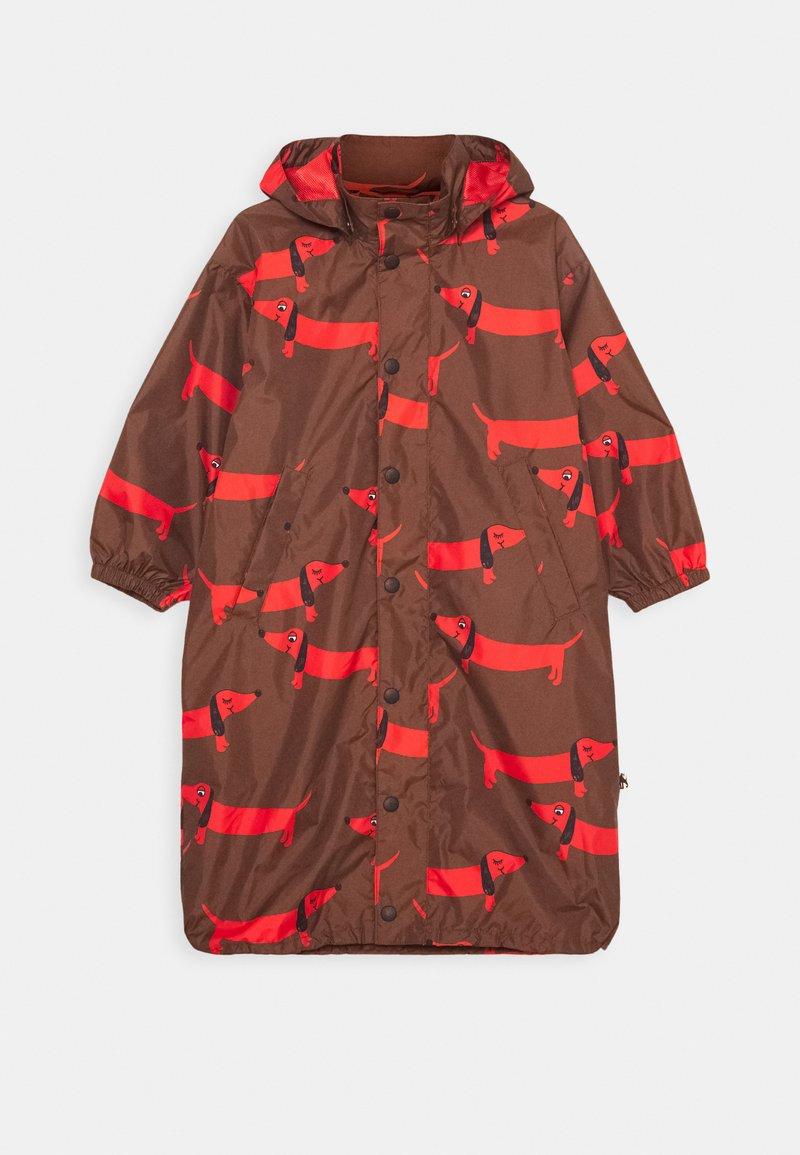 Mini Rodini - DOG PRINTED UNISEX - Outdoor jacket - red