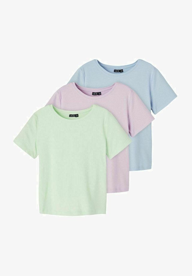 3ER PACK - Basic T-shirt - ambrosia