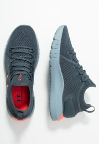 Under Armour - HOVR PHANTOM SE - Neutral running shoes - wire/ash gray/beta red - 1