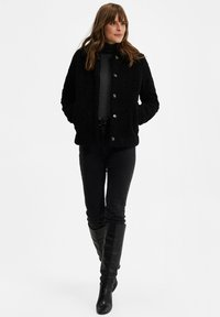 WE Fashion - Fleece jacket - black - 1