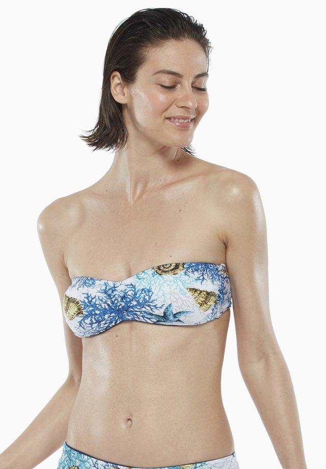 Bikini pezzo sopra - marine/blue