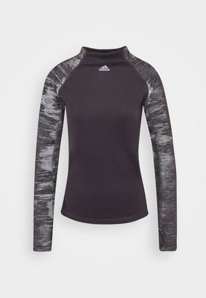 ASK - Long sleeved top - purple