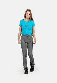 IZAS - T-shirt imprimé - turquoise - 1