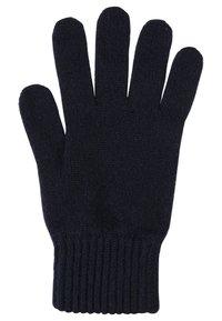 Johnstons of Elgin - CASHMERE GLOVES - Gloves - navy - 1