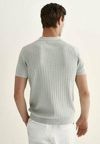 Massimo Dutti - Polo shirt - light grey - 1