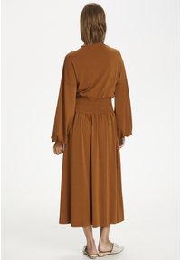 InWear - CHRISTELIW  - Jerseyjurk - leather brown - 2