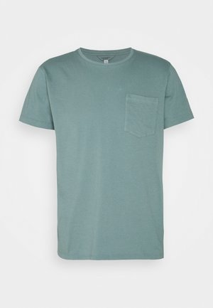 WILLIAMS POV TEA DYED - T-shirt - bas - pale navy