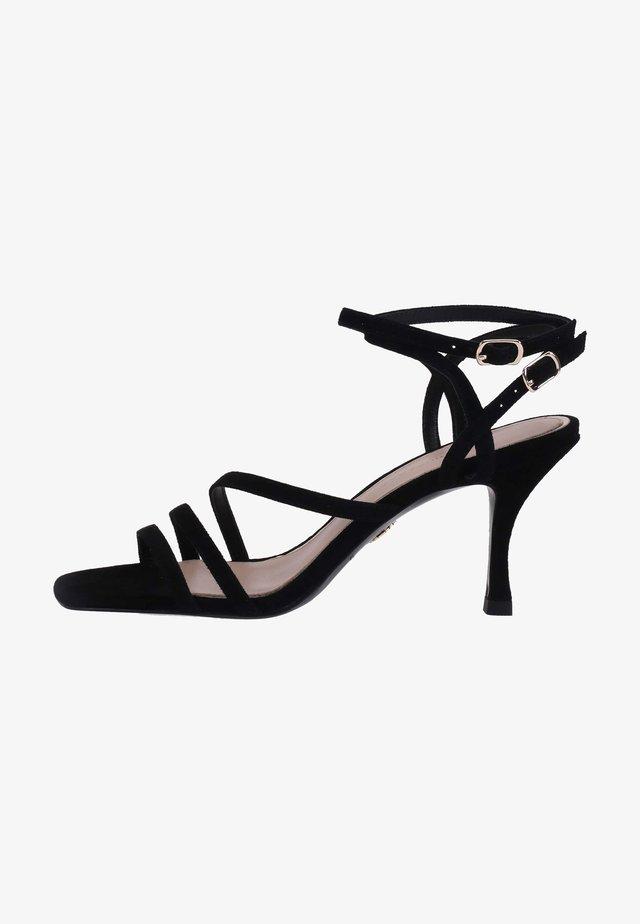ALLA PUGACHOVA - High heeled sandals - schwarz