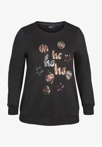 Zizzi - Sweatshirt - black - 1