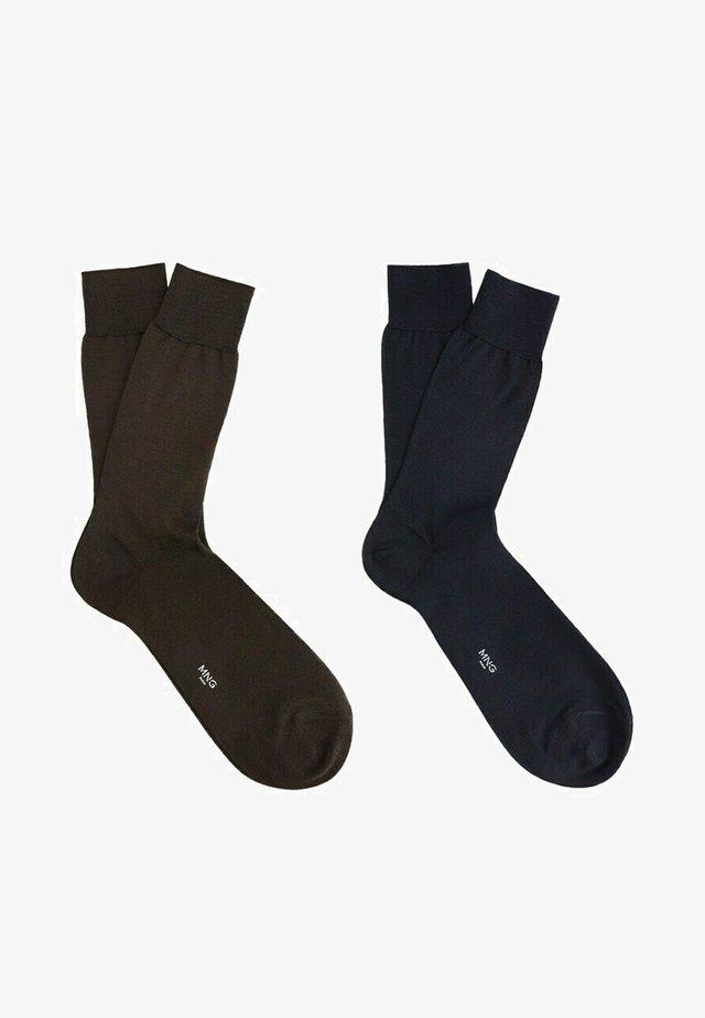 SCOTLIAM - Chaussettes - bleu marine