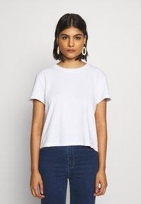American Vintage - ZERITOWN - T-shirts - blanc - 0