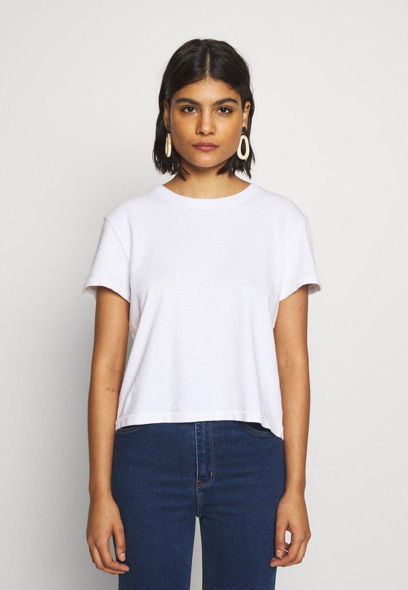 American Vintage - ZERITOWN - T-shirts - blanc
