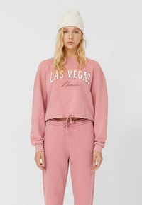 Stradivarius - Sweatshirt - rose - 0