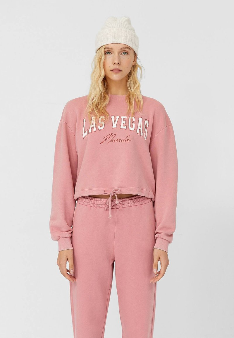 Stradivarius - Sweatshirt - rose