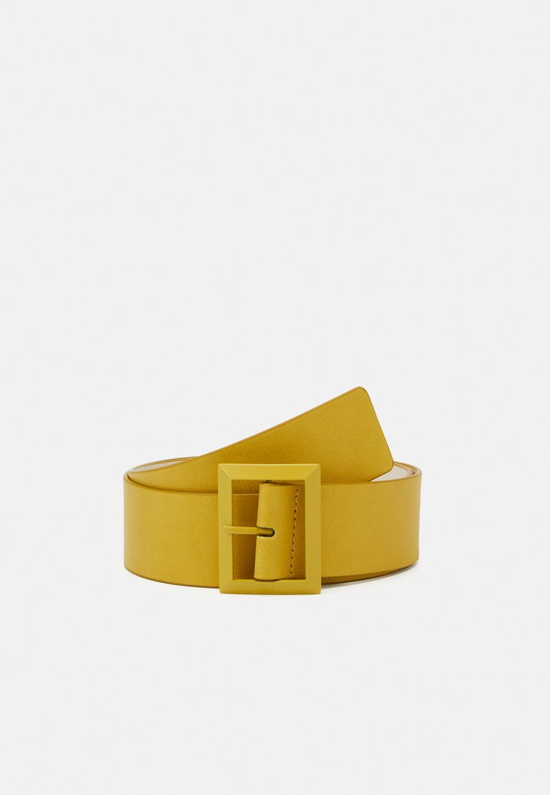 Benetton - BELT - Pásek - yellow