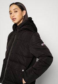 Tommy Jeans - HOODED JACKET - Winter jacket - black - 4